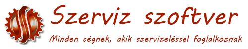 Szerviz program Logo